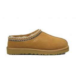 Zapatillas de piel Tasman marrón