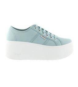 Zapatillas Valiente azul -Altura plataforma: 6cm-