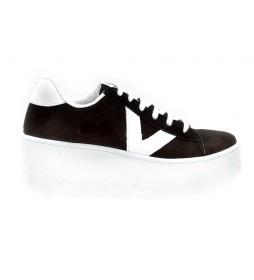 Zapatillas Valiente Plataforma negro -Altura plataforma: 7cm-