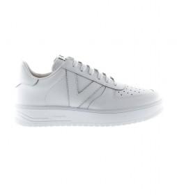 Zapatillas de piel Siempre blanco
