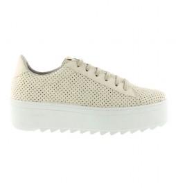 Zapatillas Sierra beige -Altura de la plataforma: 5cm-