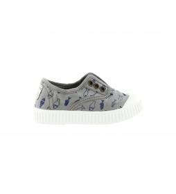 Zapatillas Peces Tintados gris