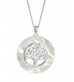 Colgante Essentials árbol de la vida grande plata