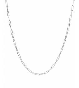 Collar Essentials Plata eslabones medianos plateado