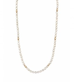 Collar Rosanna Zanetti perlas oro 18Ktes