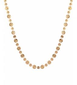 Collar Trendy monedas oro 18Ktes