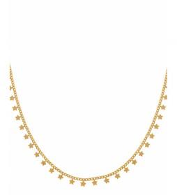 Collar Tendy estrellas colgantes oro 18Ktes