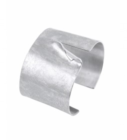 Brazalete Textures plata