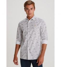 Camisa Polpelin Elastico Full Print  Sport & Play blanco