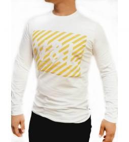 Camiseta Grafica Puff blanco