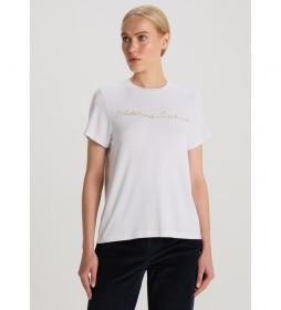 Camiseta  Luxe String blanco