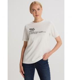 Camiseta   Interlock Poeme beige