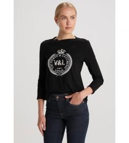 Camiseta Jewells negro