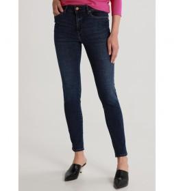 Jeans Caja Alta marino