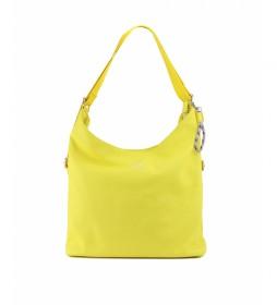 Bolso mochila BMVO00916AM amarillo -35x37x32cm-