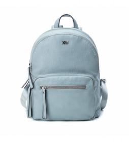 Mochila 086286 azul -15x26x31cm-
