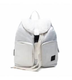 Mochila 086466 blanco -35x35x19cm-