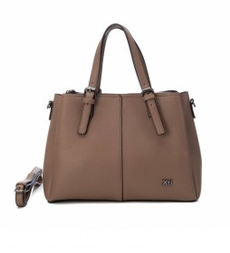 Bolso 086636 taupe -24x34x13cm-