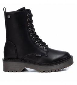 Botines 43215 negro