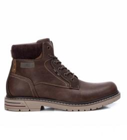 Botines 043155 marrón oscuro
