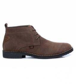 Botines 043175 marrón