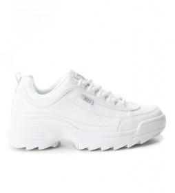 Zapatillas Kesha blanco -Altura suela: 4,5cm-