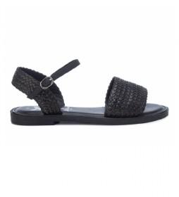 Sandalias Planas 042735 negro