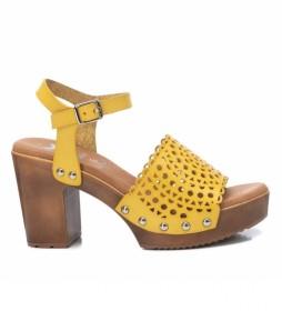 Sandalias 042740 amarillo -Altura del tacón: 9cm-