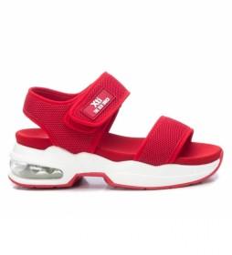 Sandalias 042753 rojo -Altura del tacón: 5cm-