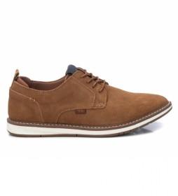 Zapatos de piel 042533 marrón