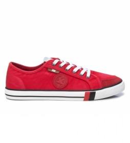 Zapatillas 042667 rojo