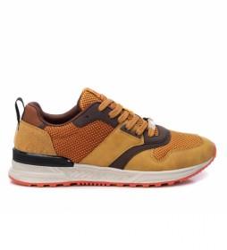 Zapatillas 043258 mostaza