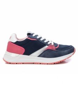 Zapatillas 042492 azul, rosa