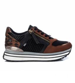 Zapatillas 0430070 animalprint -Altura plataforma 4.5cm-