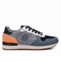 Zapatillas 043106 gris