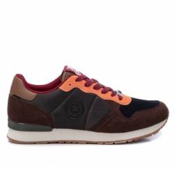 Zapatillas 043106 marrón