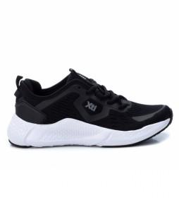 Zapatillas 044617 negro -Altura cuña: 4 cm-