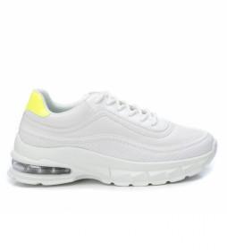 Zapatillas 049734 blanco -Altura tacón 6 cm-