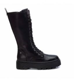 Botas 036667 negro -Altura plataforma 4 cm-