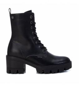Botines 036645 negro -altura tacón de 6 cm-