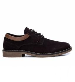 Zapatos 036653 marrón oscuro