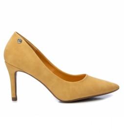 Zapato de salón  034235 amarillo -Altura tacón: 8cm-