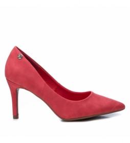 Zapato de salón  034235 rojo -Altura tacón: 8cm-