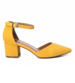 Zapato de salón 034244 amarillo -Altura tacón: 6cm-