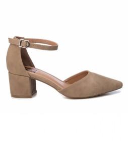 Zapato de salón 034244 taupe -Altura tacón: 6cm-