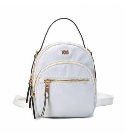 Bolso mochila 086501 blanco -22x18x11cm-