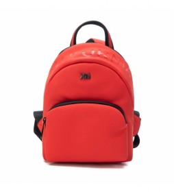 Bolso mochila 086502 rojo -27x21x14cm-