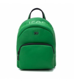 Bolso mochila 086502 verde -27x21x14cm-