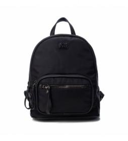 Mochila 086620 negro -29x24x12cm-