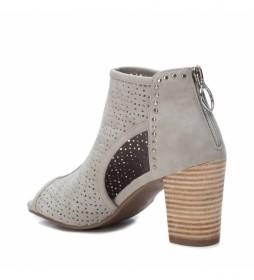Botín de mujer gris 04898302   Xti store